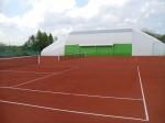 Tenis Kiełpin - nawierzchnia ceglana