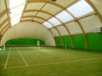 Nawierzchnia trawiasta klub Tenis Kiełpin